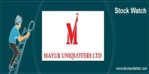 Mayur Uniquoters stock analysis