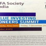 My key notes from 2nd Value Investing Pioneers Summit